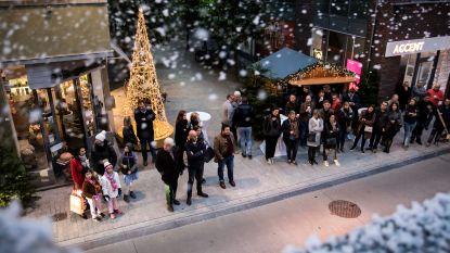 Eerste kerstvlokken dwarrelen neer in Sint-Truiden