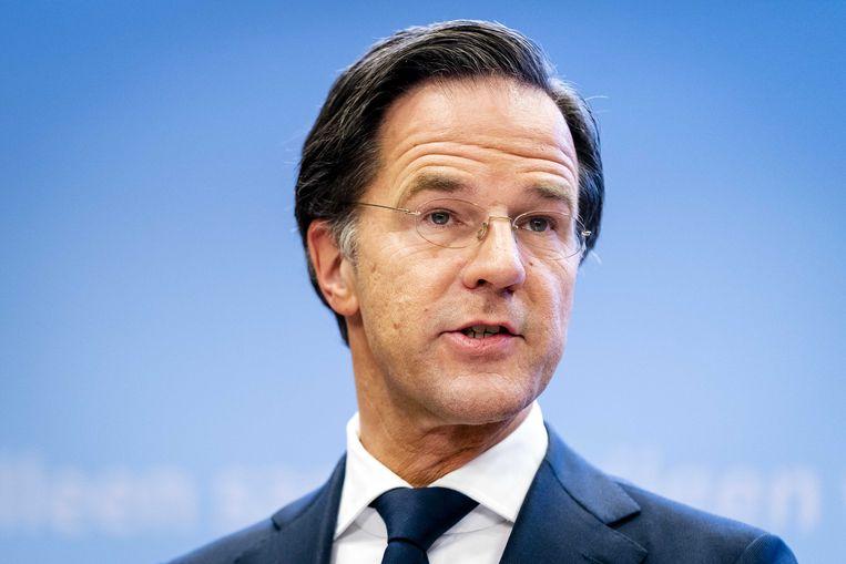 Demissionair premier Mark Rutte. Beeld ANP