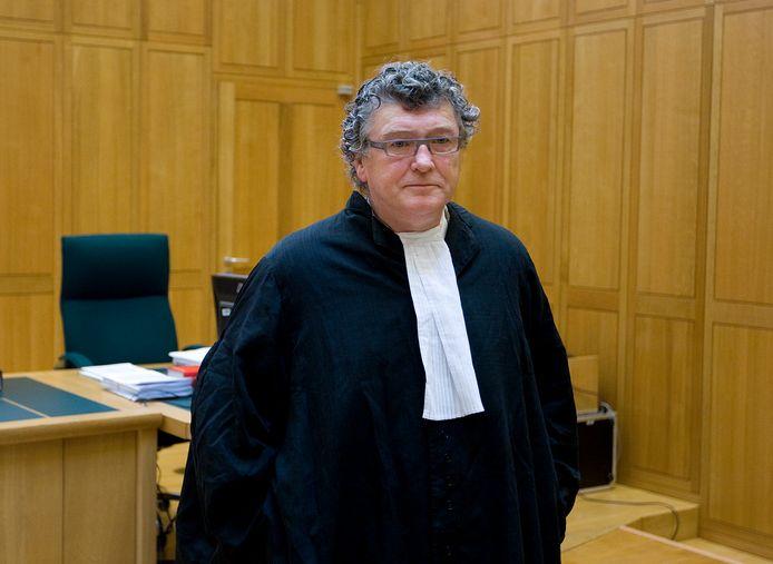 Pieter van der Kruijs, hier nog in zijn advocatentoga