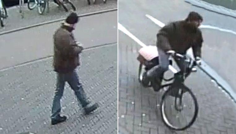 De man is te zien op bewakingsbeelden Beeld Politie / Opsporing Verzocht