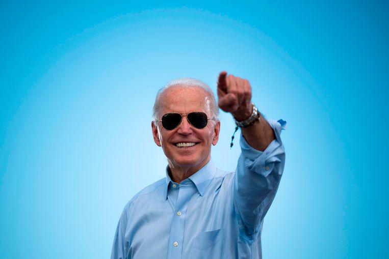 Joe Biden: de man die in de VS voor verbinding moet gaan zorgen. Beeld AFP