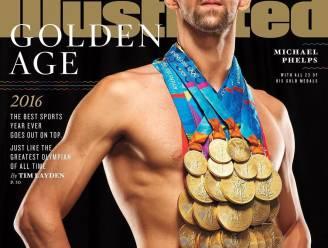Wauw, Michael Phelps draagt al zijn 23 gouden medailles tegelijk voor fotoshoot