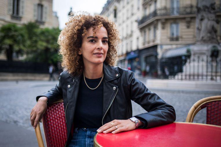 Leïla Slimani: 'Ik ga over mijn nek van jullie sharia.' Beeld EPA