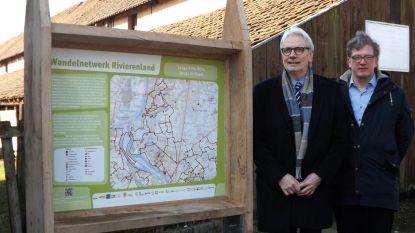 Signalisatie Wandelnetwerk Rivierenland voltooid