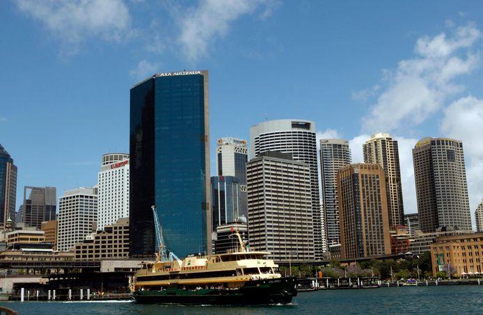 Een ferry in Sydney.