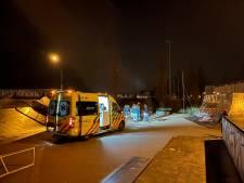 Ernstig gewonde na enorme smak met step op skatebaan in Vathorst