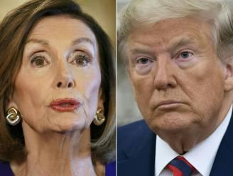 """Huis-voorzitter Nancy Pelosi: """"Genoeg belastende verklaringen om Trump af te zetten"""""""
