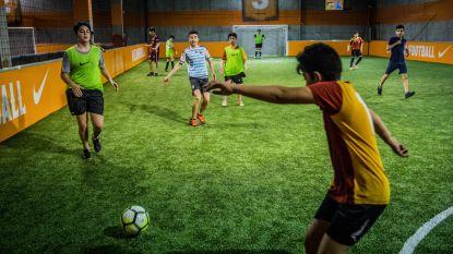 """Vanaf midden mei opnieuw voetballen in Dok Noord: """"Alle wedstrijdjes worden gefilmd"""""""