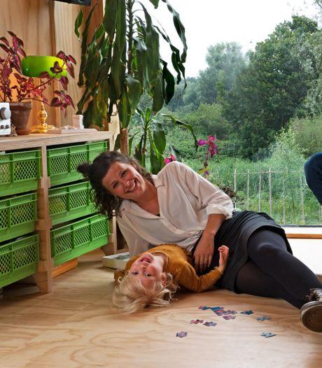 Minne (3) weet goed wat ze wil: 'Ik ga in een piepklein huisje wonen'
