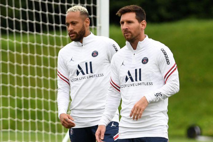 Lionel Messi en Neymar.