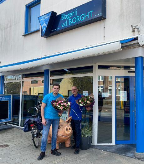 Fort-Zeekant verrast bijzondere wijkbewoners met bloemetje