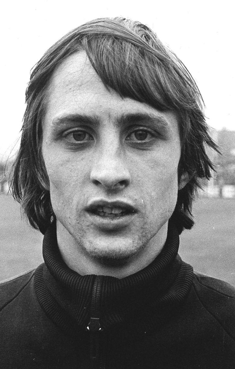 Johan Cruijff in 1971. Beeld ANP