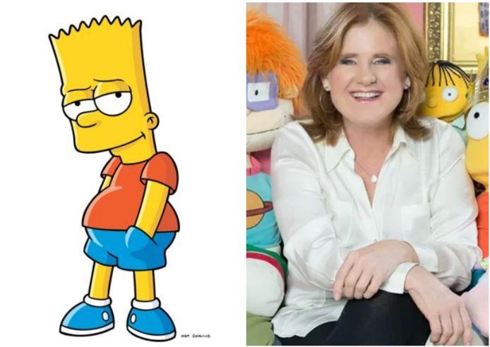 Nancy Cartwright is Bart Simpson.