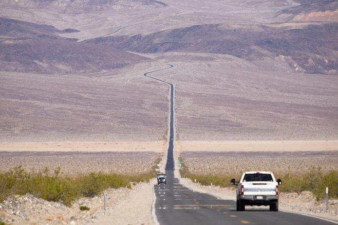 Death Valley in Californië is 's zomers een van de heetste plekken ter wereld.