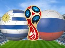 Uruguay en Rusland vechten om groepszege