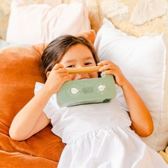 Une petite boite magique pour aider les enfants à se calmer et à s'endormir.