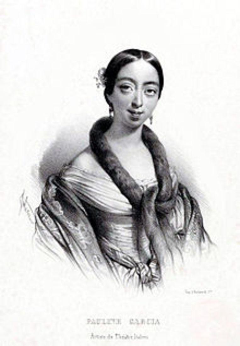 Pauline Viardot Garcia Beeld