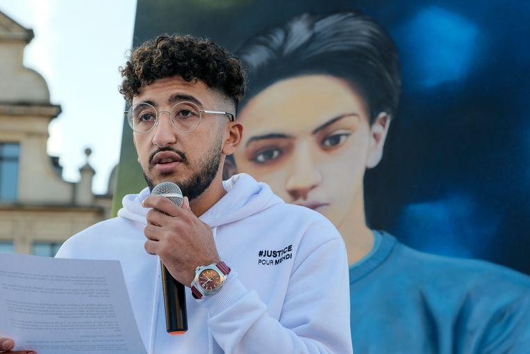 mars voor Mehdi: broer van Mehdi