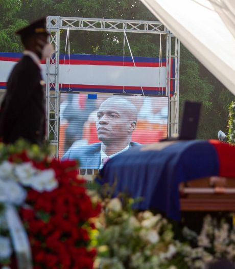 Haïti: début des funérailles nationales du président assassiné Jovenel Moïse