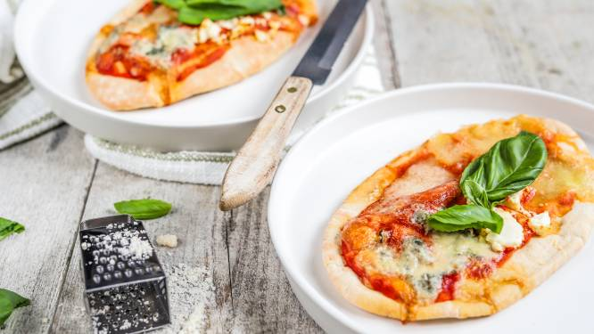 Wat Eten We Vandaag: Pita pizza quattro formaggi