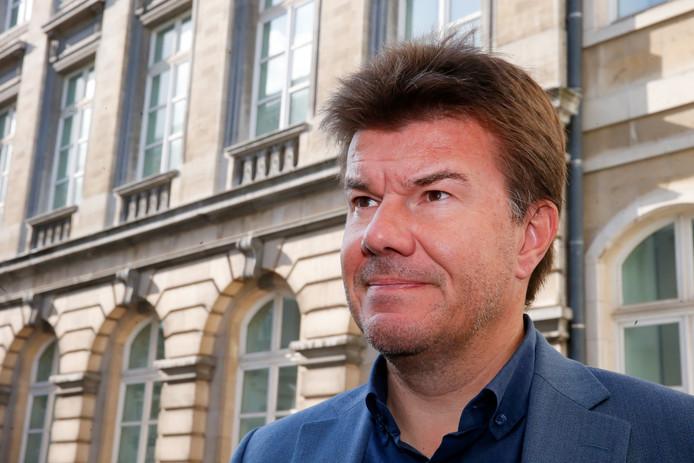 Sven Gatz, le ministre bruxellois en charge de la Promotion du multilinguisme