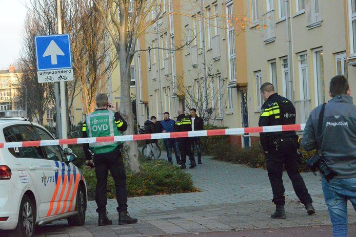 Er is vanmiddag een melding binnengekomen van een schietpartij op de Gramsbergenlaan in Den Haag.