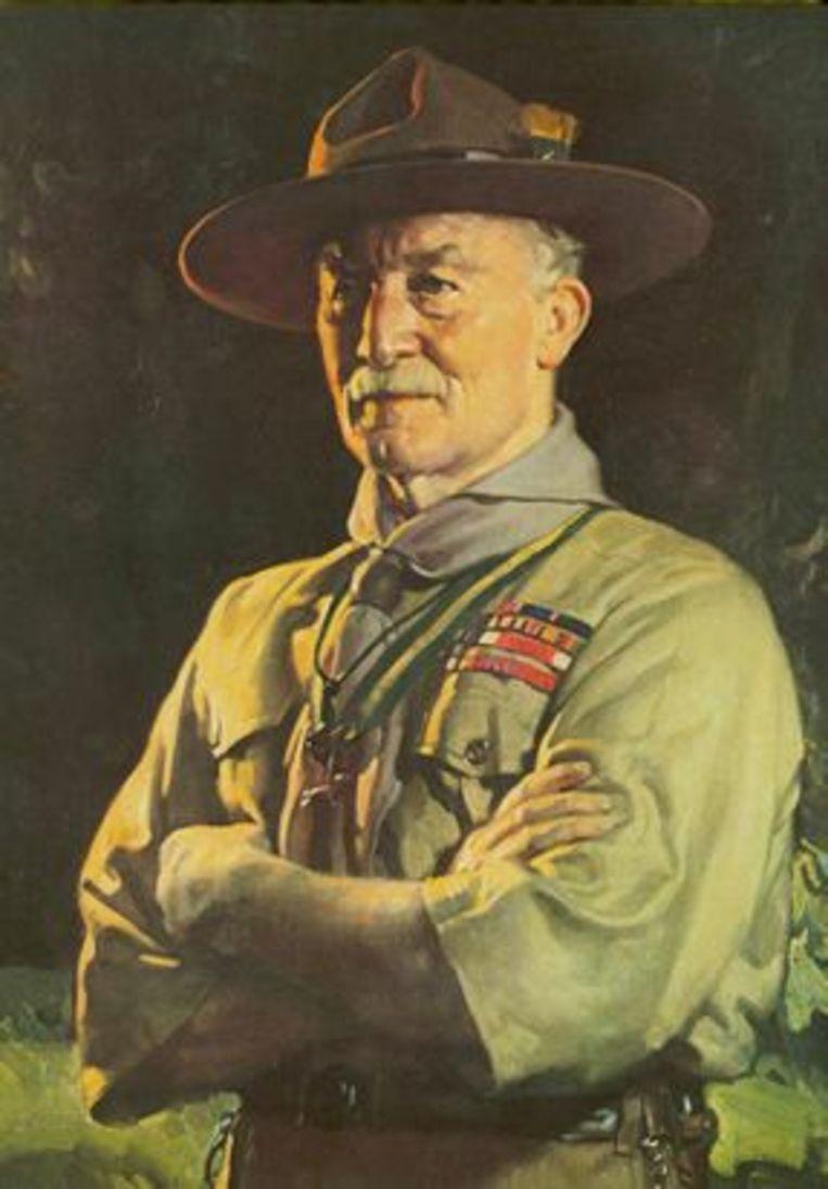 Scoutinggrondlegger Robert Baden-Powell Beeld Humo