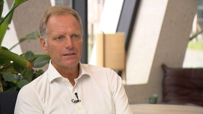Peter Bossaert, de CEO van de voetbalbond.