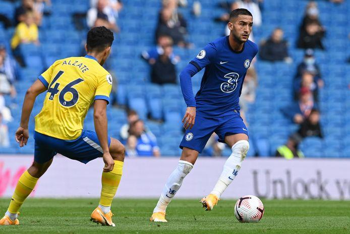 Hakim Ziyech zal zaterdag zijn officiële debuut gaan maken voor Chelsea. In het oefenduel bij Brighton op 29 augustus liet hij al wat van zijn klasse zien.