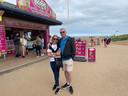 Andrew en Deborah wilden naar Alicante, maar vieren nu vakantie in Skegness: 'We zouden hier normaal gesproken nooit naartoe zijn gekomen'