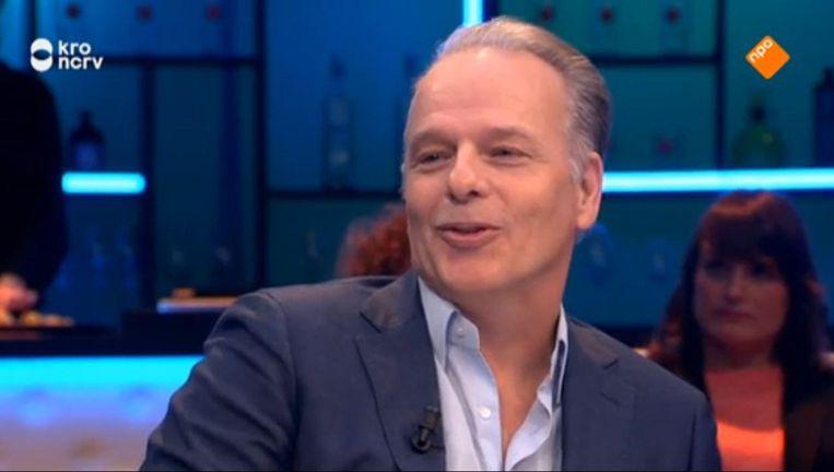 Wierd Duk, politiek verslaggever van het Algemeen Dagblad. Beeld