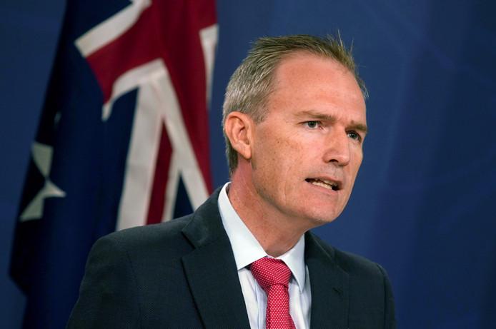 De Australische minister van Immigratie David Coleman.