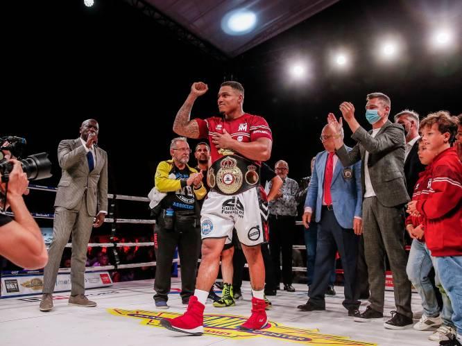 Landgenoot Ryad Merhy verdedigt WBA-titel met glans, Chinese uitdager knock-out in 8ste ronde