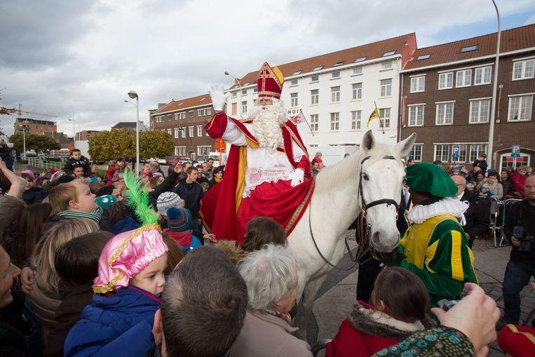 aankomst sinterklaas in Hasselt