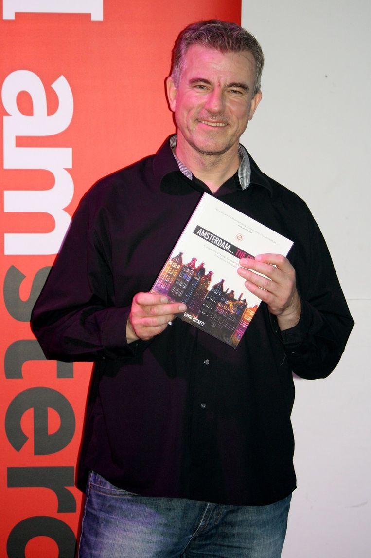 Schrijver David Becket signeert aanstaande donderdag in boekhandel Waterstone's  <br /> Beeld null