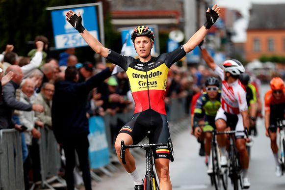 Belgisch kampioen Tim Merlier komt naar Izegem Koers.