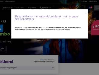 Algemene storing bij Proximus veroorzaakt door technische panne, niet door hacking