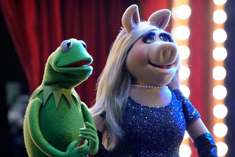 Kermit en Miss Piggy. Beeld Q2