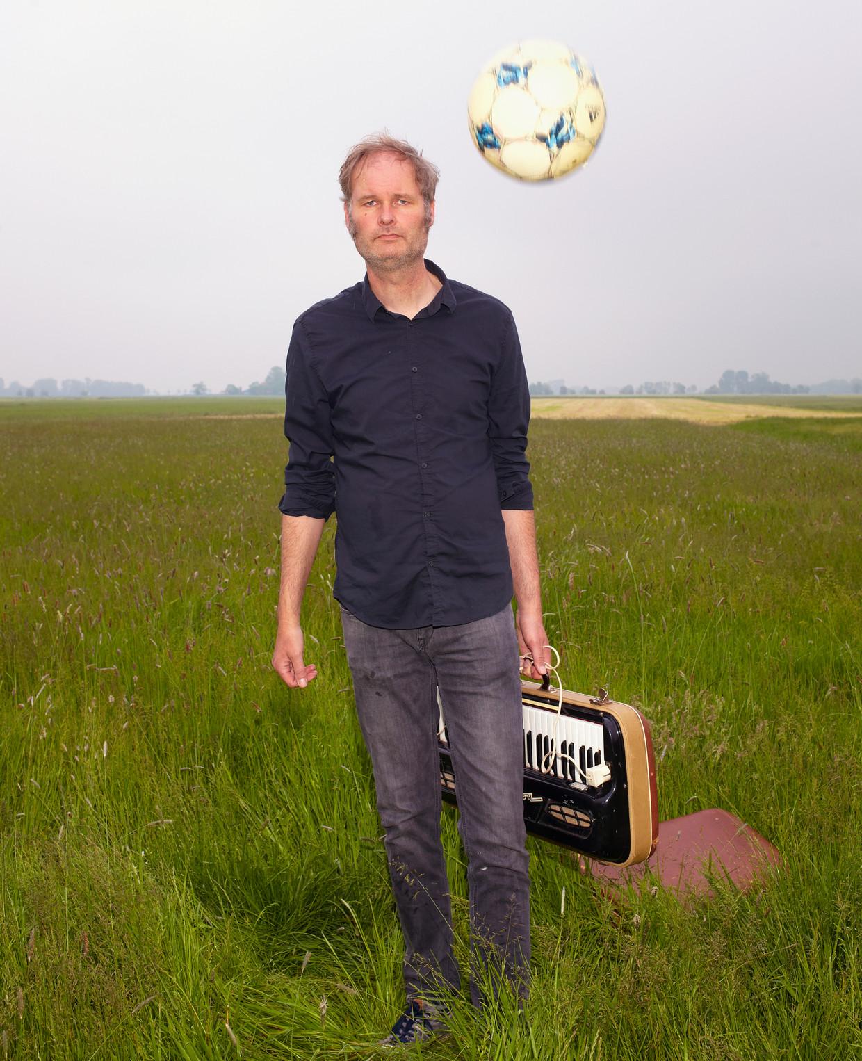 Liedjesschrijver en muzikant Meindert Talma. Beeld Daniel Cohen