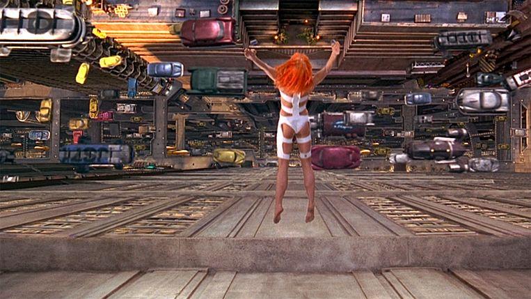 Beeld uit The Fifth Element. Beeld