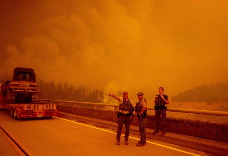 Oroville, Californië Beeld AFP