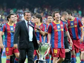 """Kandidaat-voorzitter Laporta dropt bommetje tijdens debat: """"Als ik niet win, zal Messi vertrekken"""""""