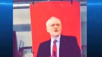VIDEO. Britse soldaten in Kabul gebruiken foto Jeremy Corbyn als schietschijf