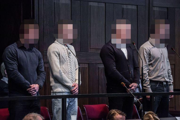 De jury verklaarde Kevin Goeman, Robin Van Bossuyt, Jacky Labaere en Kevin Derveaux schuldig over de hele lijn.