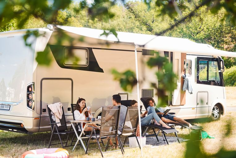 campingclusters Beeld Getty Images