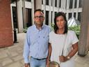 Johan Gysel en Griet Depreitere, de ouders van Charlotte, zakten vrijdag zelf naar de rechtbank af.
