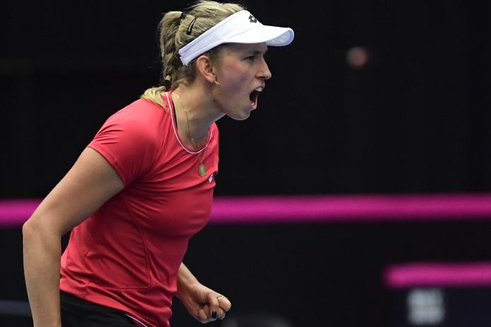 Inexistante dans le premier set, Elise Mertens a trouvé la parade pour se sortir d'une situation compliquée contre la numéro 2 kazakhe, Zarina Diyas.