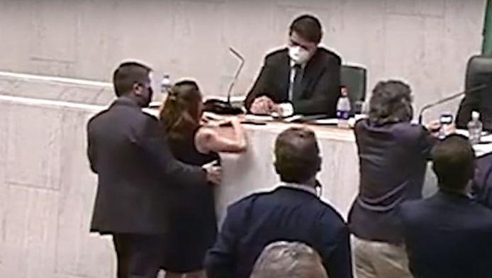Isa Penna a été agressée sexuellement par un confrère le 17 décembre dernier à l'assemblée législative de São Paulo.