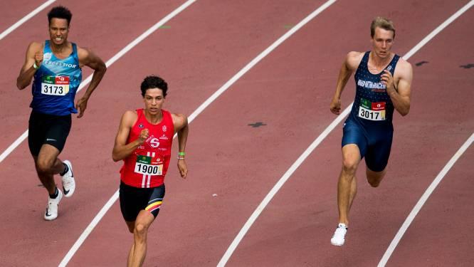 Jonathan Sacoor moet mogelijk vier keer aan de slag op 400m tijdens de World relays