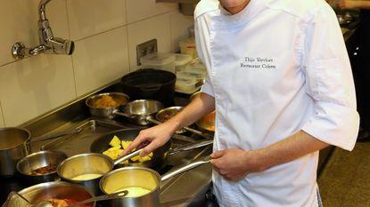 Thijs Vervloet bij meest talentvolle Vlaamse chefs